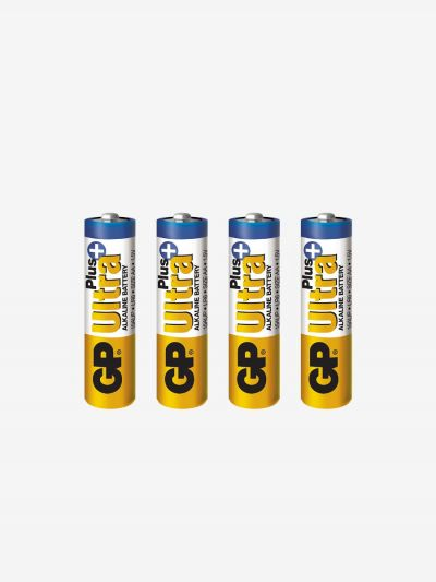 Alkaliskt batteri AA 4-pack, GP Batteries