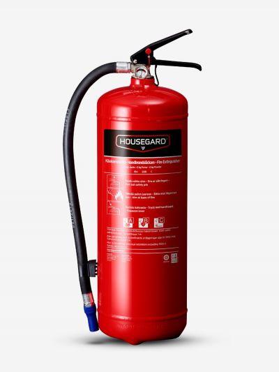 Pulversläckare 6 kg 55A, röd