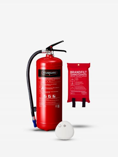 Lilla brandskyddspaketet - röd (Bostad < 60 m², 1 sovrum)