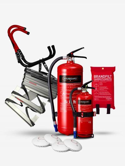 Stora brandskyddspaketet - röd (Bostad > 120 m², 3+ sovrum)