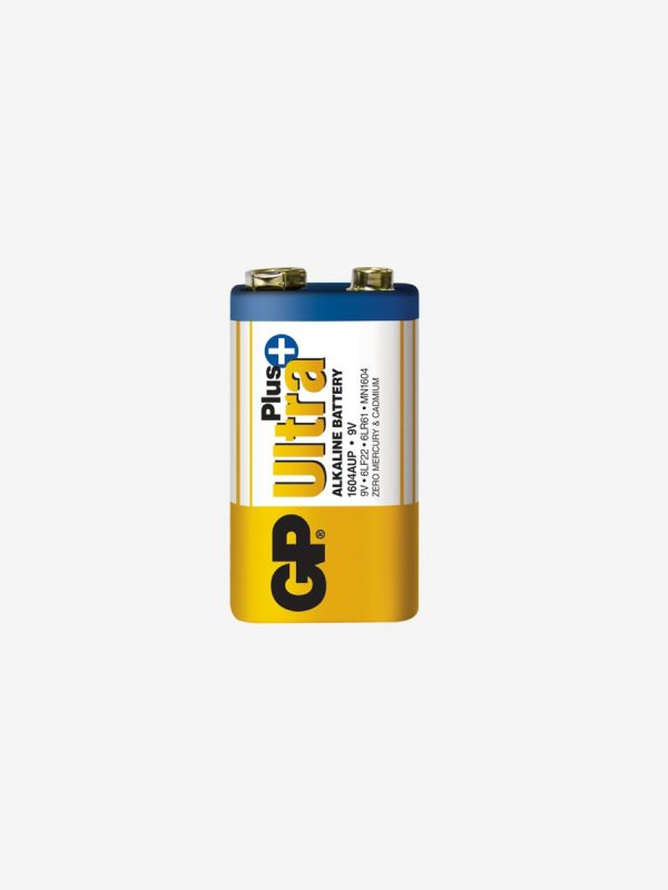 Alkaliskt batteri 9V, GP Batteries