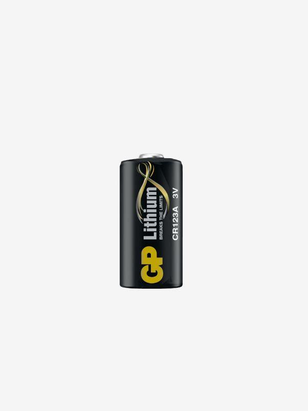 Litiumbatteri 3V CR123A, GP Batteries